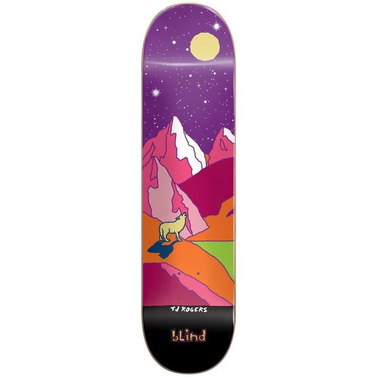 Blind Landscape Skateboard Deck - Rogers 8.0
