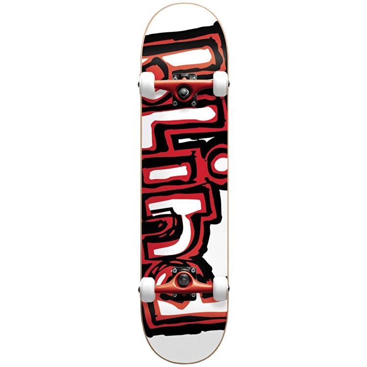 Blind Matte OG Logo Complete Skateboard Red 7.75