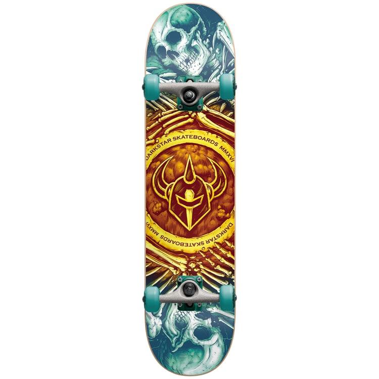Darkstar Remains Complete Skateboard - Gold Fade 7.75