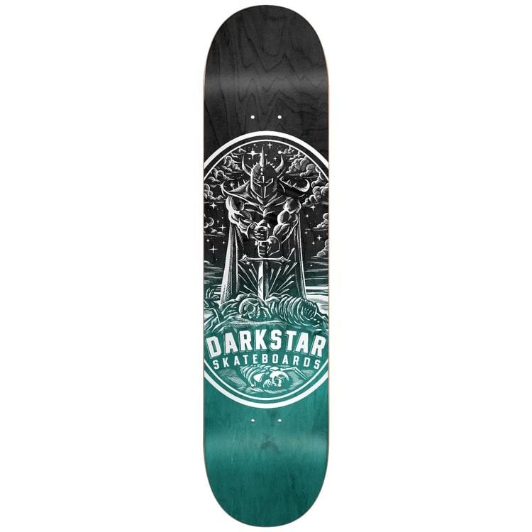 Darkstar Warrior Skateboard Deck - Aqua 8